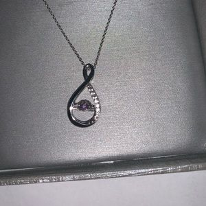 Unstoppable Love Amethyst Necklace